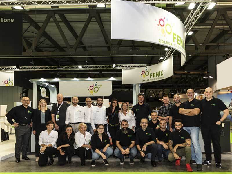 Il Team Fenix a Viscom 2019